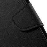 Diary PU kožené pouzdro na mobil Asus Zenfone 3 Deluxe - černé - 7/7