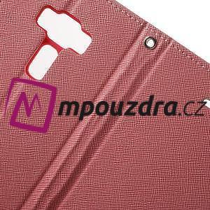 Diary PU kožené pouzdro na mobil Asus Zenfone 3 Deluxe - růžové - 7