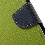 Diary PU kožené pouzdro na mobil Asus Zenfone 3 Deluxe - zelené - 7/7