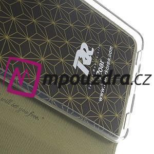 Diary peněženkové pouzdro na mobil Asus Zenfone 3 Ultra - khaki - 7