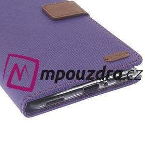 Diary peněženkové pouzdro na mobil Asus Zenfone 3 Ultra - fialové - 7