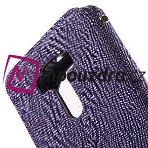 Diary pouzdro s okýnkem na mobil Asus Zenfone 3 ZE520KL - fialové - 7