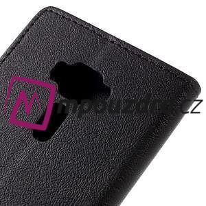 Leathy peněženkové pouzdro na Asus Zenfone 3 ZE520KL - černé - 7