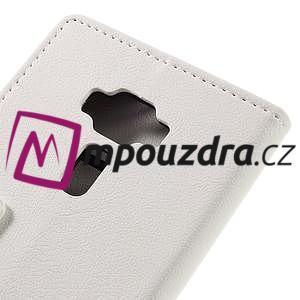 Leathy peněženkové pouzdro na Asus Zenfone 3 ZE520KL - bílé - 7