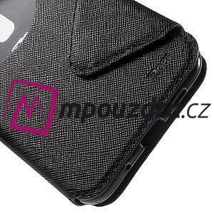 Diary pouzdro s okýnkem na mobil Asus Zenfone 3 ZE520KL - černé - 7