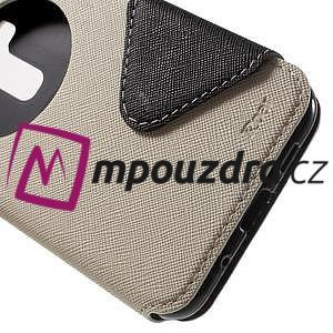 Diary pouzdro s okýnkem na mobil Asus Zenfone 3 ZE520KL - bílé - 7