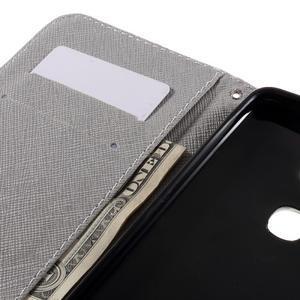 PU kožené pouzdro na mobil Honor 5X - motýl - 7