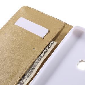 Flow peněženkové pouzdro na Honor 5X - modré pozadí - 7
