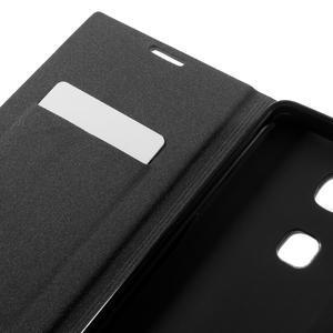 Klopové PU kožené pouzdro na Huawei Honor 5X - červené - 7