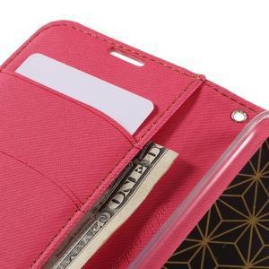 Style PU kožené pouzdro pro LG K10 - rose - 7
