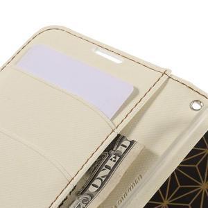 Style PU kožené pouzdro pro LG K10 - bílé - 7