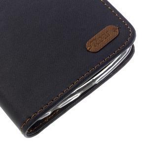 Style PU kožené pouzdro pro LG K10 - černé - 7