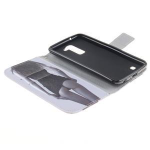 Peněženkové pouzdro na mobil LG K10 - sexy dívka - 7