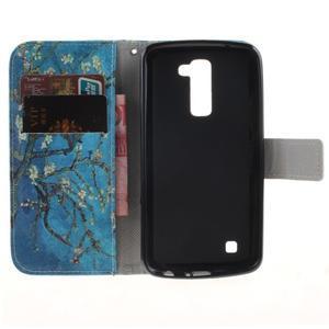 Peněženkové pouzdro na mobil LG K10 - kvetoucí strom - 7