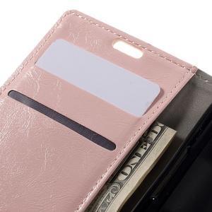 Růžové peněženkové pouzdro na LG K4 - 7