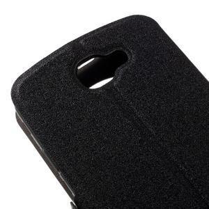 Trend pouzdro s okýnkem na mobil LG K4 - černé - 7