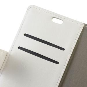 Sitt PU kožené pouzdro na mobil LG Zero - bílé - 7