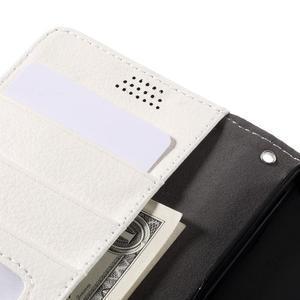 Funny peněženkové pouzdro na mobil Microsoft Lumia 650 - bílé - 7