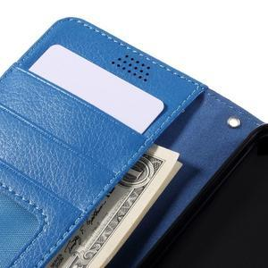 Funny peněženkové pouzdro na mobil Microsoft Lumia 650 - modré - 7