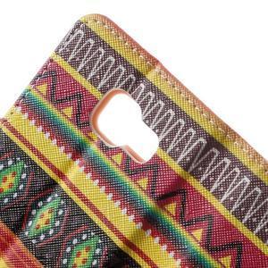Peněženkové pouzdro na mobil Samsung Galaxy A3 (2016) - tribal - 7