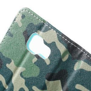 Peňaženkové puzdro pre mobil Samsung Galaxy A3 (2016) - kamufláž - 7