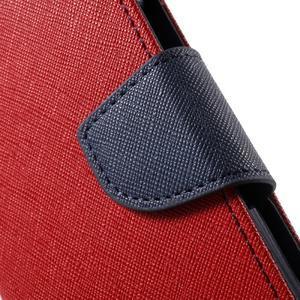 Goospery peněženkové pouzdro na Samsung Galaxy A3 (2016) - červené - 7