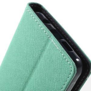 Goospery peněženkové pouzdro na Samsung Galaxy A3 (2016) - cyan - 7