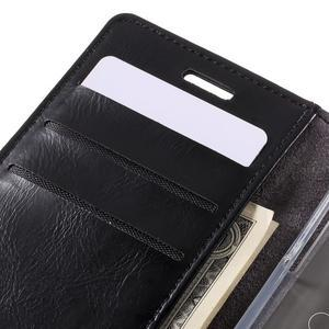 Mercury peněženkové pouzdro na Samsung Galaxy A3 (2016) - černé - 7