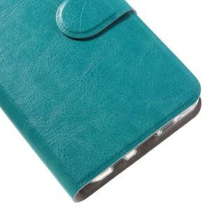 Horse peněženkové pouzdro na Samsung Galaxy A3 (2016) - modré - 7