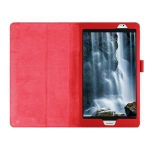 Safe polohovatelné pouzdro na tablet Huawei MediaPad M2 8.0 - červené - 7