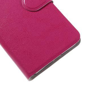 Horse peněženkové pouzdro na mobil Microsoft Lumia 650 - rose - 7