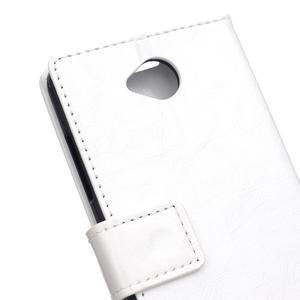 Fold peněženkové pouzdro na Microsoft Lumia 650 - bílé - 7