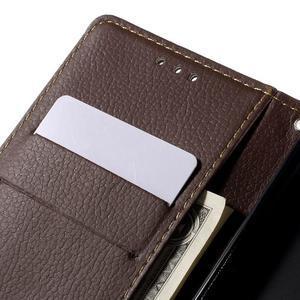 Blade peněženkové pouzdro na Sony Xperia M5 - černé - 7