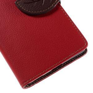 Blade peněženkové pouzdro na Sony Xperia M5 - červené - 7