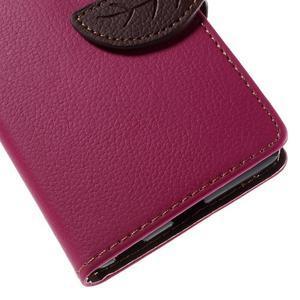 Blade peněženkové pouzdro na Sony Xperia M5 - rose - 7