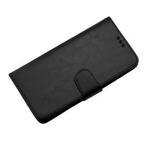 Horse PU kožené pouzdro na Sony Xperia M5 - černé - 7