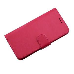 Horse PU kožené pouzdro na Sony Xperia M5 - rose - 7