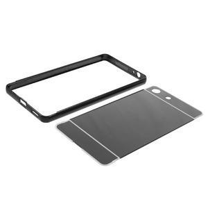 Kryt s kovovým obvodem pro Sony Xperia M5 - černý - 7