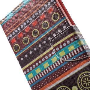 Stand peněženkové pouzdro na Sony Xperia M5 - tribal - 7