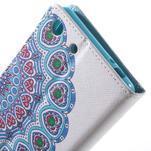 Stand peněženkové pouzdro na Sony Xperia M5 - mandala - 7/7