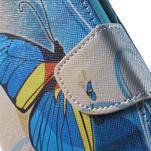 Stand peněženkové pouzdro na Sony Xperia M5 - motýlek - 7/7