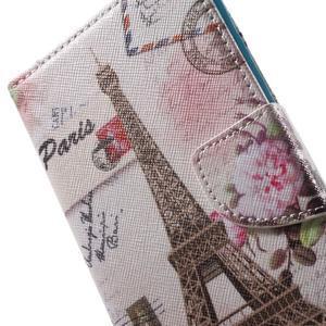 Stand peněženkové pouzdro na Sony Xperia M5 - Eiffelova věž - 7