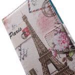Stand peněženkové pouzdro na Sony Xperia M5 - Eiffelova věž - 7/7