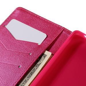 Crafty peněženkové pouzdro na Sony Xperia M5 - srdce - 7