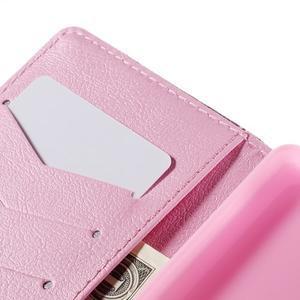 Crafty peněženkové pouzdro na Sony Xperia M5 - ptáčci - 7