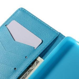 Crafty peněženkové pouzdro na Sony Xperia M5 - modrý slon - 7