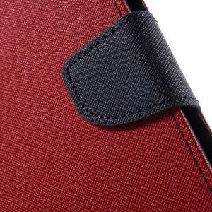 Mr. Goos peněženkové pouzdro na Asus Zenfone Selfie ZD551KL - červené - 7
