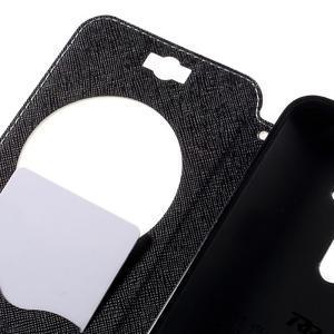 Peněženkové pouzdro s okýnkem na Asus Zenfone Selfie ZD551KL - bílé - 7