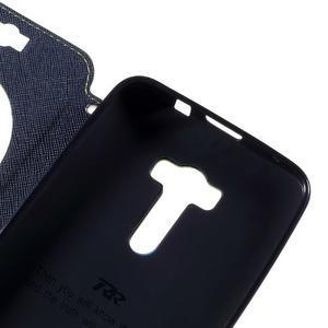 Peněženkové pouzdro s okýnkem na Asus Zenfone Selfie ZD551KL - zelené - 7