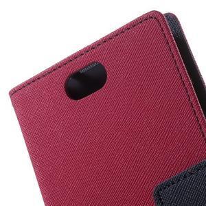 Mr. Goos peněženkové pouzdro na Asus Zenfone Selfie ZD551KL - rose - 7